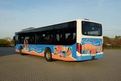 Werbung auf Bussen